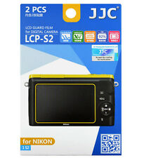 JJC LCP-S2 ultra hard polycarbonate LCD Screen Protector For Nikon 1 S2 2 Pack