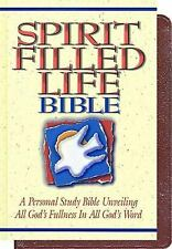 Spirit-filled Life Bible, Thomas Nelson, Good Book