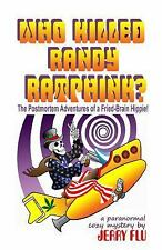 Who Killed Randy Ratfink?(Paranormal Cozy Suspense)New Large Paperback signed