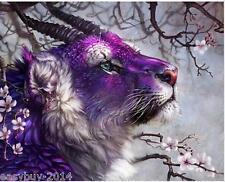 Purple Animal Diamond Embroidery 5d Diamond DIY Painting  Cross Stitch