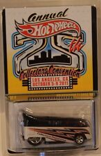 Hot Wheels 25th Convention Volkswagen T1 Drag Bus VW Only 3500 Made Real Riders