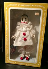 VINTAGE PIERROT CLOWN DOLL By EFFANBEE -  NEW IN ORIGINAL BOX  #1162  Eyes close