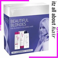 Wella SP Color Save System Professional Color Beautiful Blonde Shampoo Trio Pack