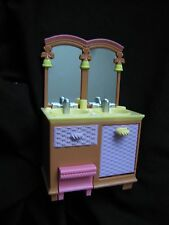NEW FISHER PRICE Loving Family Dollhouse BATHROOM MIRRORED VANITY SINK Mirror