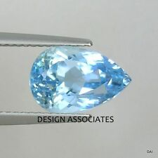 AQUAMARINE 14X10 MM PEAR CUT OUTSTANDING BLUE COLOR ALL NATURAL