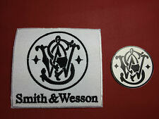 "Smith & Wesson, Firearms Manufacturer Patch 3.5""x 3.25"" Patch + S&W FREE STICKER"
