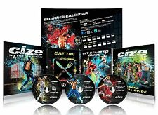 2016 Brand New ClZE Dance Workout 6 DVD The End of Exercise + Weight Loss Series