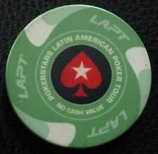 LATIN AMERICA CHIP Poker Tour Tournament $25 (Pokerstars token) Green