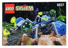 LEGO  6837-1: Cosmic Creeper   NOTICE/ INSTRUCTIONS BOOKLET / BAUANLEITUNG
