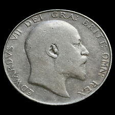 1910 Edward VII Silver Half Crown – Fine