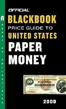 Official 2009 Blackbook Price Guide to United States Paper Money, Hudgeons, Marc