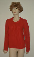 NWT BURBERRY WOMENS CHUNKY KNIT 100% CASHMERE  SWEATER SZ LARGE