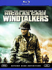 WINIDTALKERS BLU RAY MOVIE CHRISTIAN SLATER NICOLAS CAGE ADAM BEACH FREE SHIP