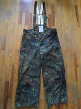 NEW luftwaffe german air force GORE TEX ecwcs flecktarn camo pants trousers L