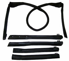 1983-1994 Chevrolet Cavalier, Z24 & RS convertible top weatherstrip seal set 5pc