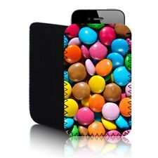 'SMARTIES SWEETS' (M) Mobile Phone Case, Pouch for Samsung GALAXY S WiFi 3.6