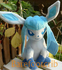 NEW POKEMON DOLLS TOMY PLUSH Ice Glaceon 8 inch Stuffed toy PLUSH DOLL