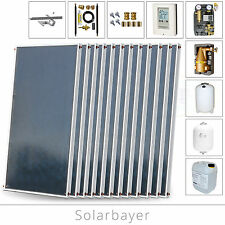 Solarbayer Solarset/Forfait solaire 24,24 m² Installation solaire pour