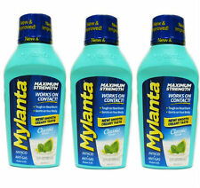 3 PACK Mylanta Max Strength Antacid Anti Gas Heartburn Classic 12oz 819903010289