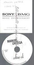 PROMO CD--MANUEL ORTEGA--OHNE DI--1TR