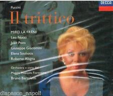 Puccini: Il Trittico / Bartoletti, Freni, Nucci, Pons, Alagna, Souliotis - CD