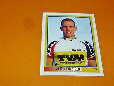 N°334 M. VAN STEEN TVM MERLIN GIRO D'ITALIA CICLISMO 1995 CYCLISME PANINI TOUR