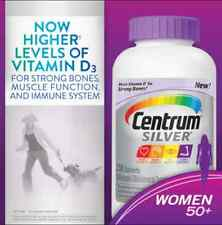 Centrum® Silver® Women  50+ , 250 Tablets  -NEW-