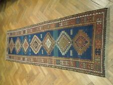 3x12 Genuine Antique Caucasion Rug, Signed Dated 1933 (82 Years Old)