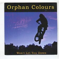 (HB311) Orphan Colours, Won't Let You Down - 2015 DJ CD