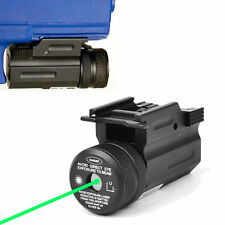 Power Green Dot Laser Sight QD 20mm Rail Mount for Pistol Rifle G 17 19 22 Hunt