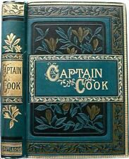 1900 CAPTAIN COOKS THREE VOYAGES ROUND THE WORLD JAMES COOK CANNIBALS EASTER ISL