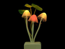 7Colors Changing LED Mushroom Night Light Lamp Candle for Wedding Party Decor