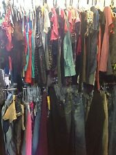 50 PC lot womens Plus Size 2x 3x 20 clothing tops pants skirts shirts wholesale