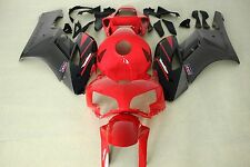 Aftermarket ABS plastic fairings Honda CBR1000RR 04-05 2004 2005 Red and black