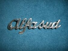 Emblem Badge Alfa Romeo Alfasud aus Metall, ca. 9 x 3 cm