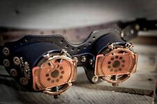 Handmade Steampunk Goggles Leather Metal Steam Punk COSPLAY Gothic Victorian #11