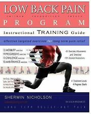 Low Back Pain Program: A Comprehensive Step by Step Exercise Treatment Plan for