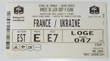 old TICKET EURO 2008 q * France - Ukraine in St. Denis