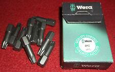 Wera Torx TX 25 By 25mm Screwdriver Bit T25 TX25 Star 867/1 TZ Quantity X 10 Box