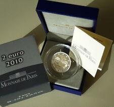 2 EURO FRANCE PROOF 2010 - BE APPEL DU GENERAL DE GAULLE