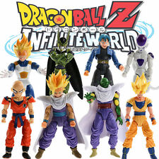 Lot 8pcs Dragonball Z Dragon ball DBZ Joint Movable Action Figure Toy Set Anime