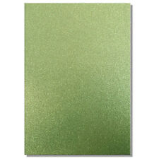 2 x A4 SHEETS OF 220GSM PREMIUM DOVECRAFT TEAL GREEN GLITTER CARD