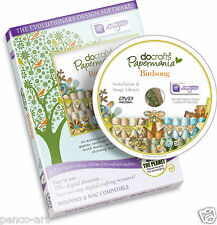 Docrafts Papermania Birdsong Cd Rom Dvd Scrapbook & Card haciendo Bird Song