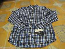 Men's Tommy Hilfiger XXL 2XL slim fit shirt long sleeve castle blue 421 7825970