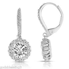 4 CTW LCS* DIAMOND LEVERBACK EARRINGS + FREE GIFT IF REGISTERED IN STORE!