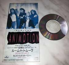 "CD ANIMOTION - ROOM TO MOVE - PPDS-4 - JAPAN 3"" INCH - SINGLE"