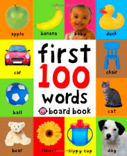 First 100 Words Board Kids Children Education Book Best Seller Toddler Learning