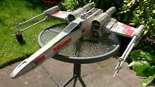 HUGE STAR WARS LUKE SKYWALKER X WING RED 5 MODEL FULL PAINTED AND WEATHERED