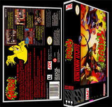 Ghoul Patrol - SNES Reproduction Art Case/Box No Game.