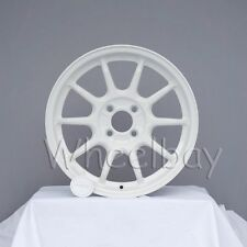 NEW ROTA WHEEL  F500  16X7 4X100 40 WHITE MINI MIATA INTEGRA 12.6 LBS LAST SET